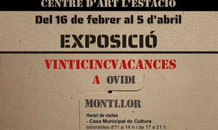 """La exposición """"Vinticincvacances a Ovidi Montllor"""" se puede visitar en Dénia a partir del 16 de febrero"""