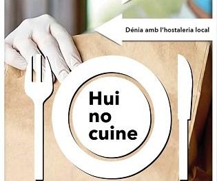 El Ayuntamiento de Dénia lanza la campaña 'Yo, hoy no cocino!' de ayuda al sector local de hostelería y restauración