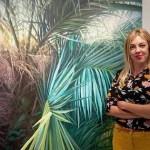 """La artista María Durá inaugura su exposición """"Palmeras y +"""" este sábado"""