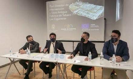 L'Ajuntament d'Alacant posa en marxa la fase final per a recuperar l'Antiga Fàbrica de Tabacs