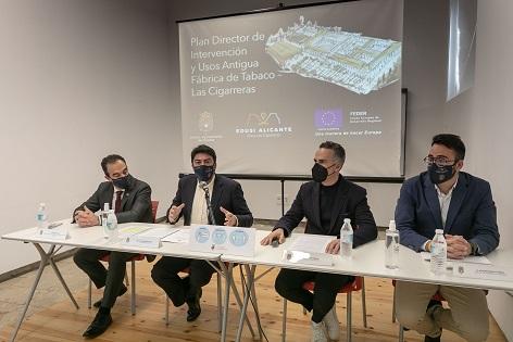 El Ayuntamiento de Alicante pone en marcha la fase final para recuperar la Antigua Fábrica de Tabacos