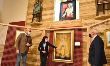Les Clarisses acull l'exposició benèfica 'Ars et Caritas' amb la qual se subhasten 45 quadres religiosos de Setmana Santa fins al pròxim 4 d'abril