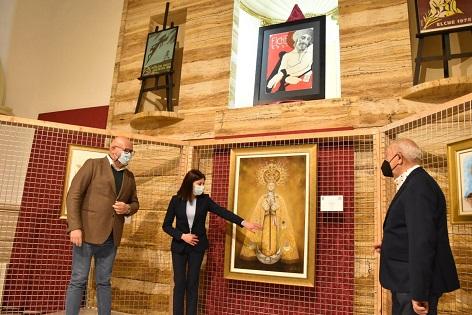 Las Clarisas acoge la exposición benéfica 'Ars et Caritas' con la que se subastan 45 cuadros religio-sos de Semana Santa hasta el próximo 4 de abril