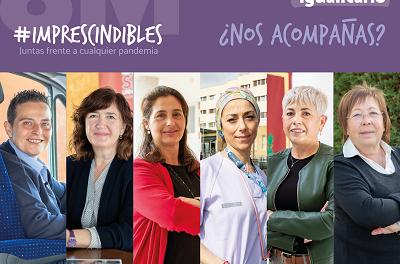 El Ayuntamiento de Elda lanza la campaña #Imprescindibles con motivo del Día Internacional de la Mujer