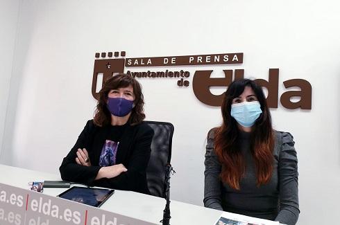 El Ayuntamiento de Elda presenta su programación de actividades en torno al 8M para el mes de marzo