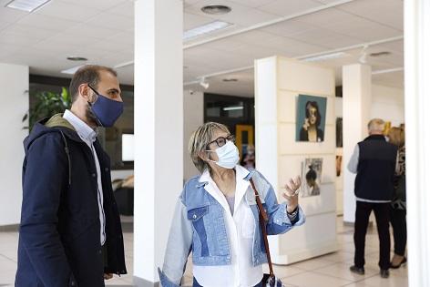 La Casa de Cultura de l'Alfàs presenta la exposición pictórica de 'CICI'