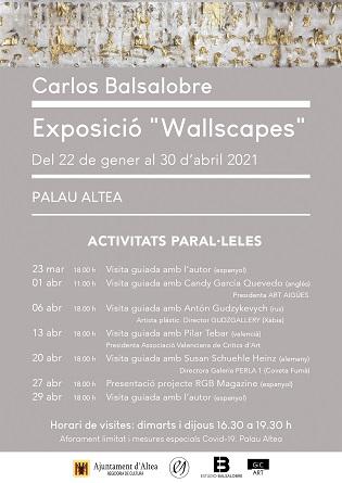 """La exposición """"Wallscapes"""" en el Palau Altea del fotógrafo Carlos Balsalobre"""