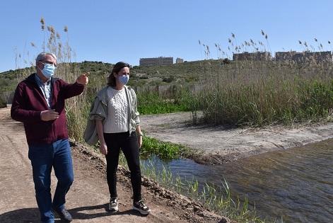 El Clot de Galvany de Elche remodela la charca de aves limícolas para mejorar su hábitat natural