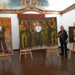 Homenaje a Federico García Lorca y Miguel Hernández en la Calahorra de Elche