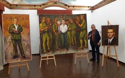 Homenatge a Federico García Lorca i Miguel Hernández en la Calahorra d'Elx