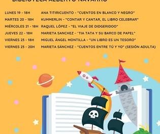 La Regidoria de Cultura d'Elda celebra el Dia del Llibre amb una setmana de contacontes a Elda i el lliurament de llibres gratuïts