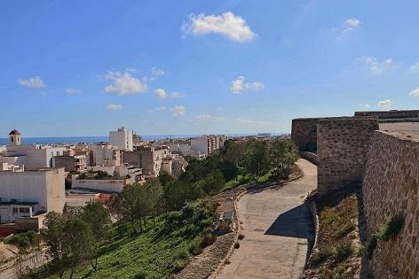 Continuan les jornades de portes obertes as Castell i Vila Murada de Guardamar en la setmana Santa de l'1 a l'11 d'abril 2021