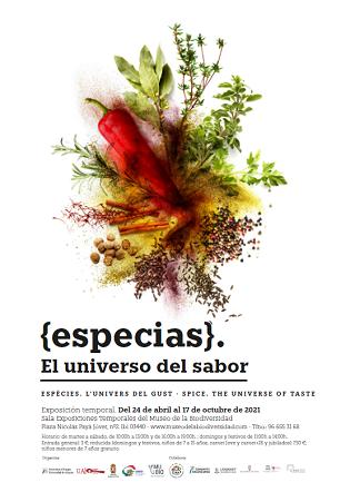 L'exposició L'univers del sabor, a través de les espècies, arriba al Museu de la Biodiversitat d'Ibi