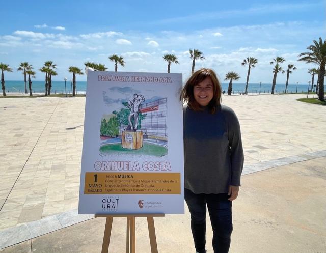 Cultura de Orihuela lleva a la costa el estreno del concierto en homenaje a Miguel Hernández de la Orquesta Sinfónica de la ciudad