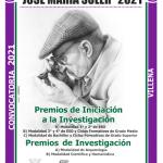 Los Premios de Investigación e Iniciación a la Investigación José María Soler cierran su plazo de presentación de trabajos el 17 de mayo