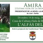 Justo I. Sellés presenta en l'Alfàs su novela histórica 'Amira, l'última flor de la Muntanya'