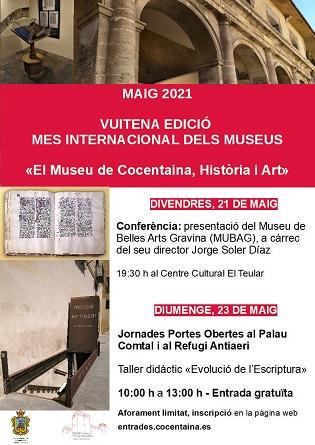 Octava edición del mes internacional de los museos en Cocentaina