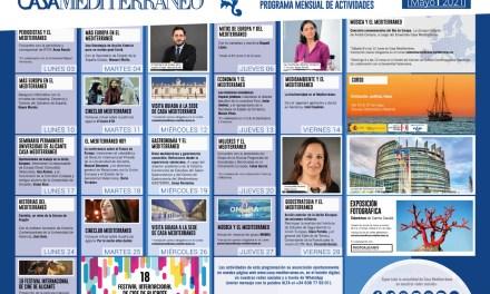 Casa Mediterráneo dedica a Europa su programación de mayo