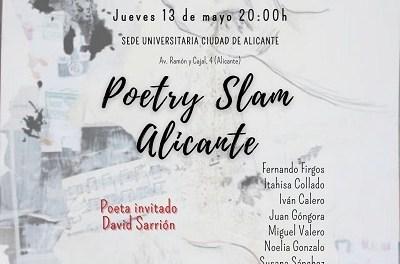 Mayo de poesía llega a Alicante con una nueva sesión del Poetry Slam