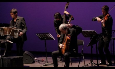 """El quintet Fernando Egozcue, presenta en el Teatre Chapí el concert """"Piazzolla 100 anys"""""""