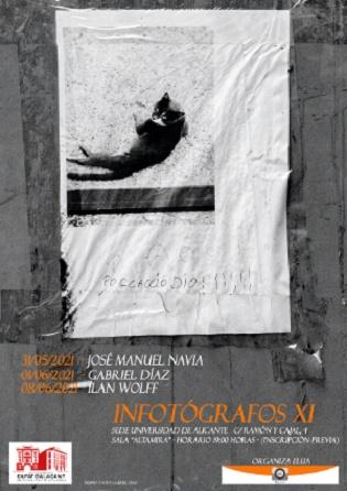 El fotògraf José Manuel Navia inaugura una nova edició d'Infotògrafs en la Seu Ciutat d'Alacant