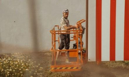 El artista internacional Antonyo Marest inicia su nuevo mural de gran formato en Villena