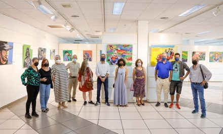 La Casa de Cultura de l'Alfàs acull l'exposició 'Art Pop en confinament'