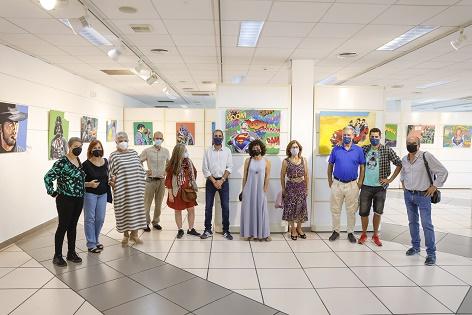 La Casa de Cultura de l'Alfàs acoge la exposición 'Arte Pop en confinamiento'