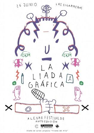 «La liada», primer Festival d'Autoedició per a fomentar la riquesa cultural d'autors i xicotets editors, aquest dissabte en Les Cigarreras