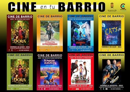 Vuelve el Cine de Verano a los barrios de Ibi