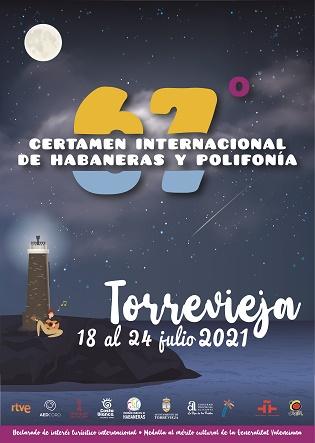 Del 18 al 24 de julio se celebrará el 67º Certamen Internacional de Habaneras y Polifonía, sin fase competitiva
