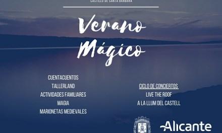 """Alacant presenta la programació de """"Estiu Màgic"""" al Castell de Santa Bàrbara"""