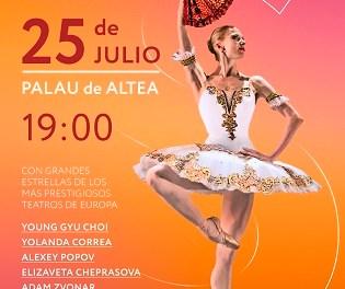 STARS GALA 2021 en julio en el Palau d'Altea: danza de lujo