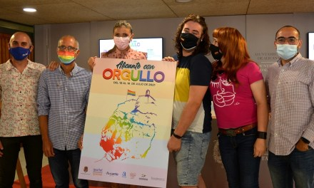 El Ayuntamiento de Alicante y los colectivos LGTBI impulsan los actos de la semana del Orgullo 2021