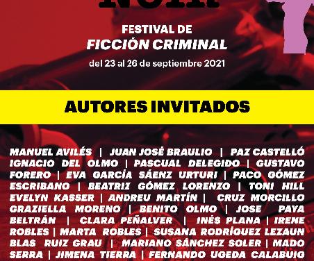 Alicante Noir presenta sus primeros participantes en un cartel igualitario y con gran presencia alicantina