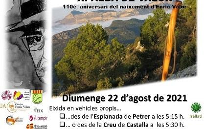 110 º Aniversario de Enric Valor en Castalla el domingo 22 de agosto