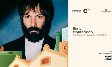 """El cantante Enric Montefusco sube al escenario de """"Momentos Alhambra Las Cigarreras"""" el sábado 24 con su mejor directo"""