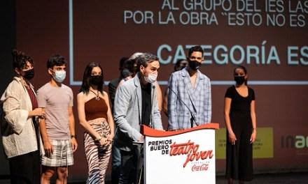 El grupo del IES Las Fuentes de Villena, tercer puesto nacional en los premios de Teatro Joven de Coca-Cola