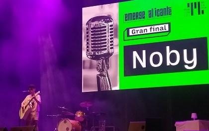 La cantante Noby se ha alzado con el triunfo en el concurso Emerge Alicante