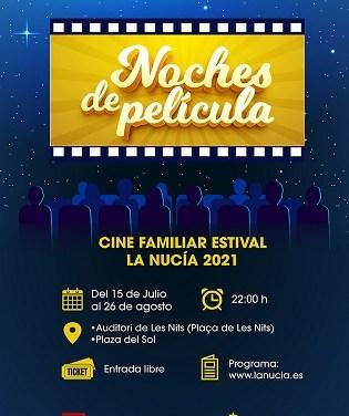 Vuelve la Emoción con las Noches de Película del Cine Familiar en La Nucía