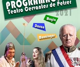 """Martita de Graná, """"La Fiesta del Chivo"""" de Juan Echanove o """"Joanot"""", parte de la nueva programación del Cervantes de Petrer"""