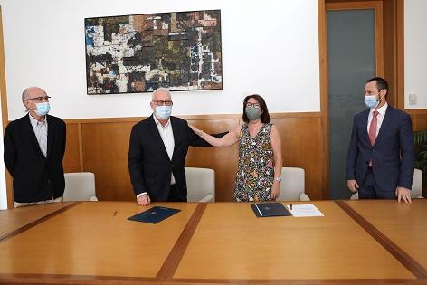 La Universitat d'Alacant i Fundació Mediterráneo llançaran una línia de publicacions conjunta