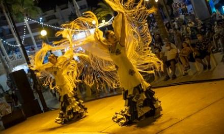 Llega el espectáculo 'Pinceladas' de España Brava este domingo a la playa de l'Albir