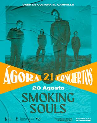 La banda Smoking Souls cierra Ágora 21 en El Campello