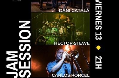 Jam Session amb Dani Catalá, Carlos Porcel i Héctor Stewe aquest divendres a La Fundición