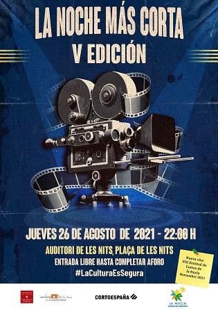 La Nit Més Curta clausura les dotze Nits de Pel·lícula a La Nucia