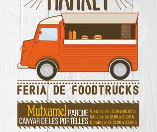 Mutxamel Street Food Market: gastronomía, música y actividades diversas para todo tipo de públicos