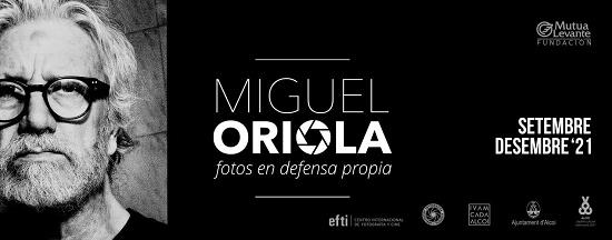«Miguel Oriola. Fotos en defensa propia» en la Sala de la Fundación Mutua de Levante de Alcoy