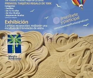 Concurso de 'Figuras de Arena en la Playa', este domingo, en La Zenia de Orihuela
