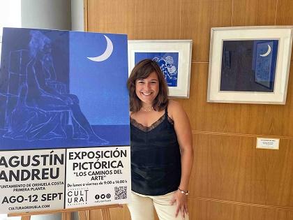 Cultura adecúa un espacio expositivo en el Ayuntamiento de Orihuela Costa